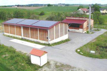 Das Biomasseheizwerk Dorfen in Rinning 4
